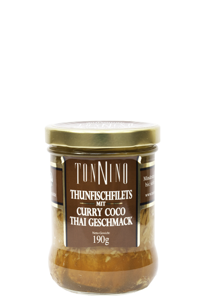 Tonnino Thunfischfilets Curry Coco
